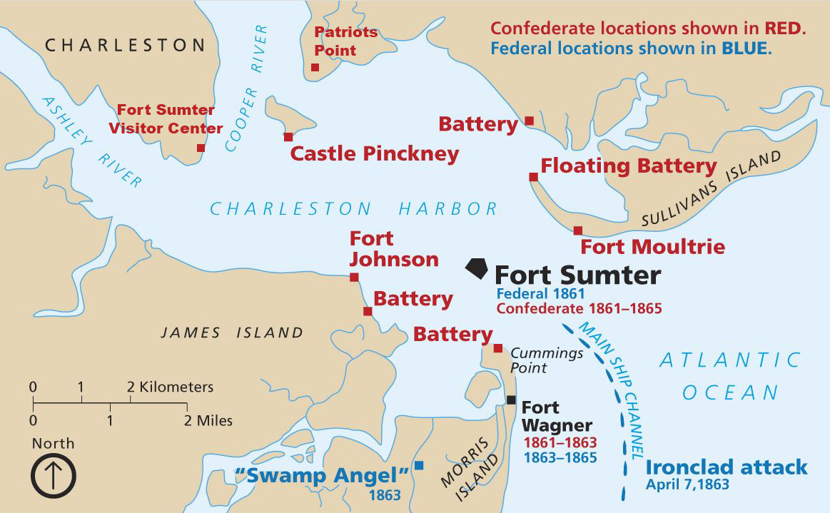 The Battle of Fort Sumter Lizzys Latest